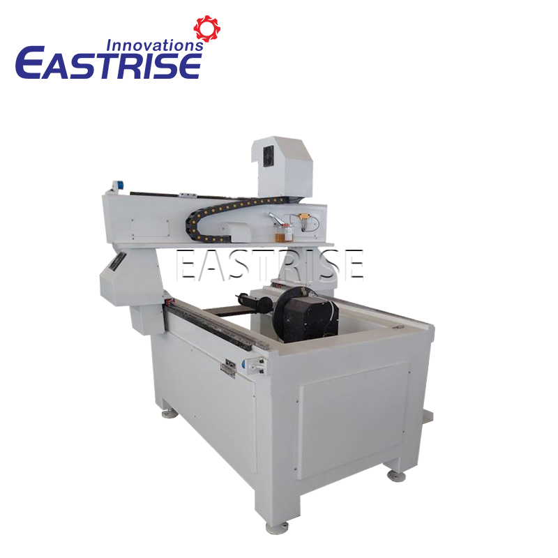 4-axis 3d CNC Carving Router Machine for Cylinder Material——Eastrise