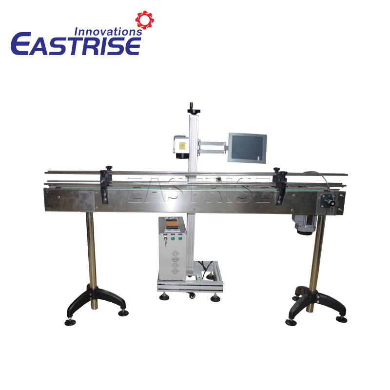 Flying Conveyor Laser Marking Machine for Cola Bottle, Bearing