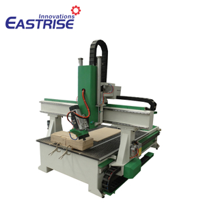 1325 4-axis ATC Cnc Router with Auto Tool Changer, Linear Tool Magazine