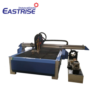 4 Axis Plasma Cutting Machine for Square Tube,round Pipe,flat Metal Sheet