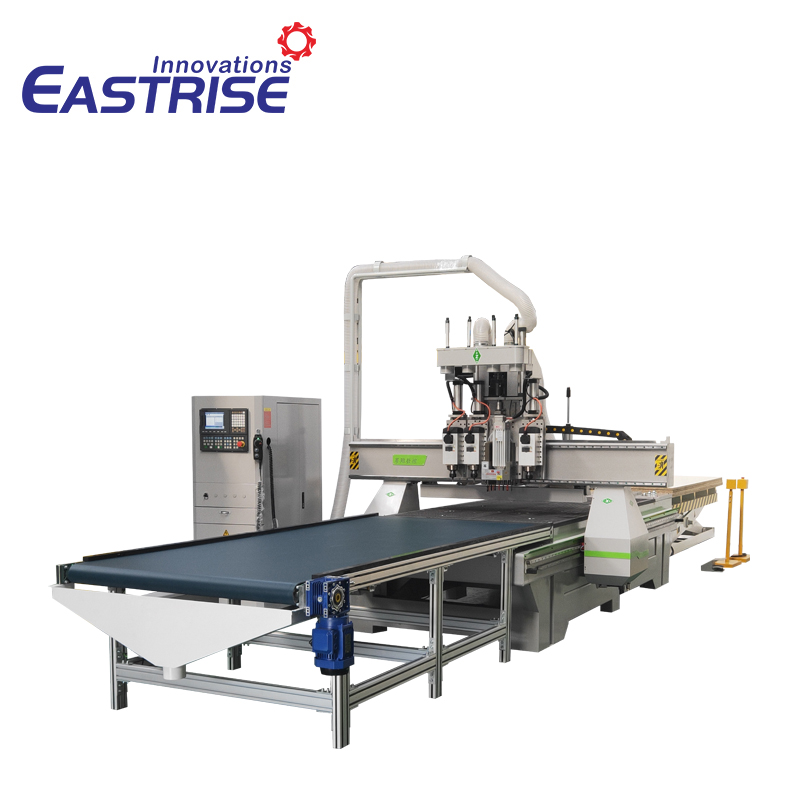 1325 Triple-spindle ATC Furniture Cnc Router with Boring Head